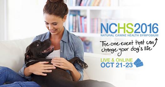 Natural Canine Health Symposium 2016