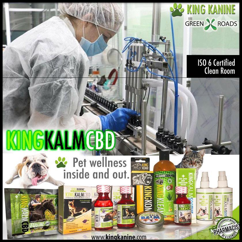 King Kanine Cannabis for Dogs